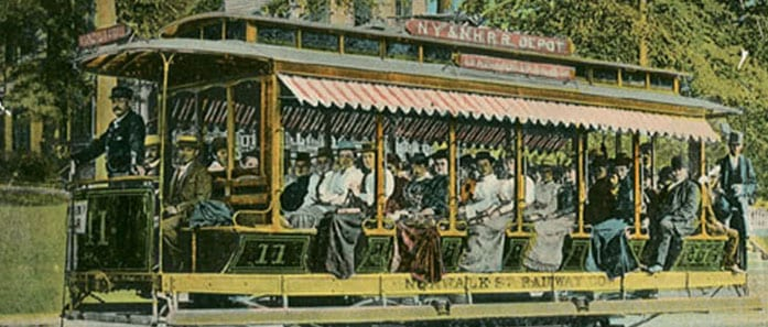 Old Fashioned Trolley Car