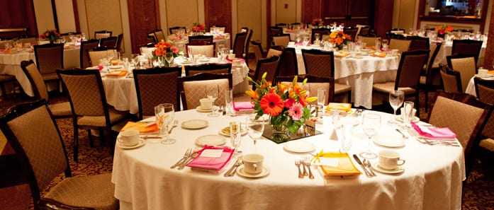 Table at Event