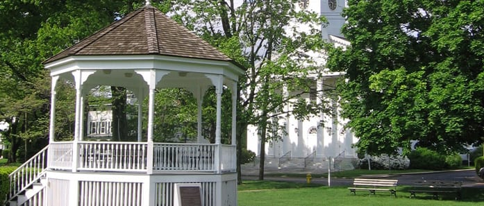 The Town Gazebo in Norwalk CT