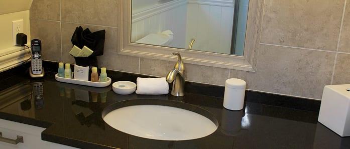Bathroom in The Nagy Suite