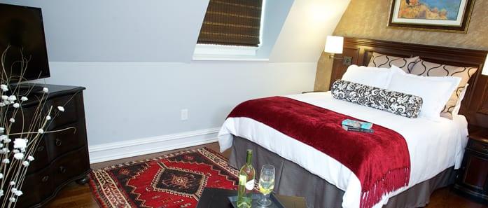 Bedroom in The Nagy Suite