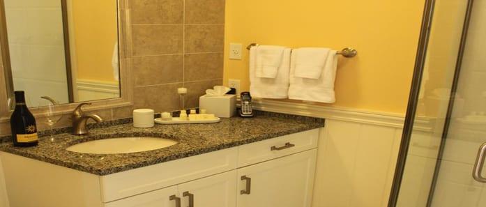 Bathroom in The St. John Suite