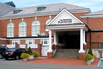 The Ridgefield Playhouse in Ridgefield CT
